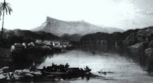 The View Of Kuching In 1840's