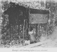 "The RENTAP Tomb ""Lumbong"" Before Reburial Ceremony"