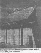 Libau RENTAP Tomb