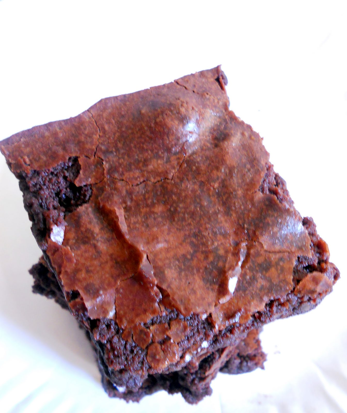 The Year of The Cookie: Cocoa Brownies with Browned Butter and Walnuts