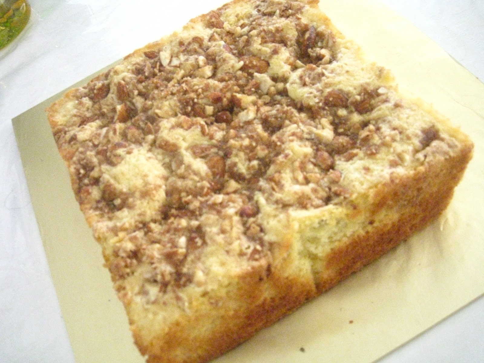 Cake Mess: Almond Butter Cake