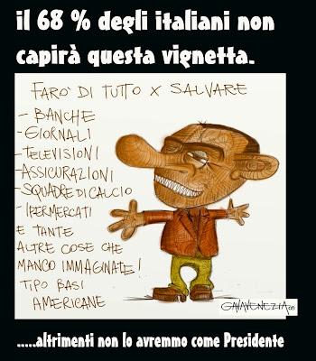 Gava satira Berlusconi