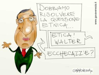 Morale pd questione etica etnica gava satira vignette