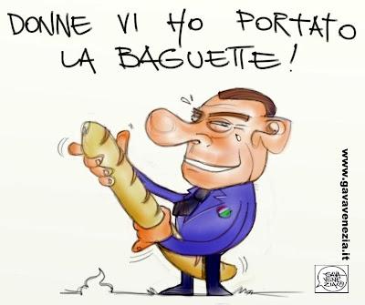 Baguette Gava satira vignette