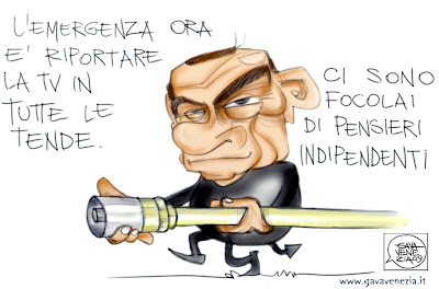 pensieri indipendenti Berlusconi Gava satira gavavenezia gavavenezia.it
