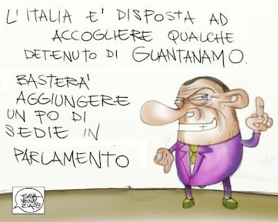 Gava satira vignette Berlusconi
