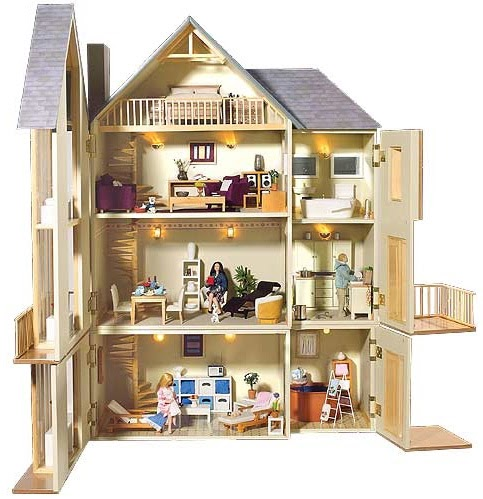 a doll house obsession with