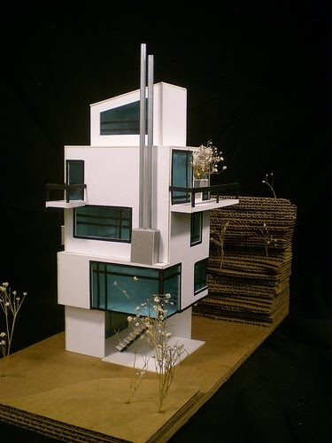 Modern mini houses for Miniature architecture