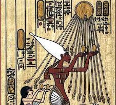 Akhenaten's sun
