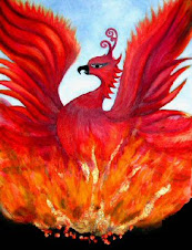 "Fire giving ""birth"" to a Phoenix"