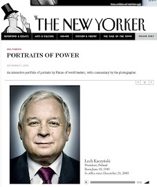 Prezydent RP na okladce New Yorkera