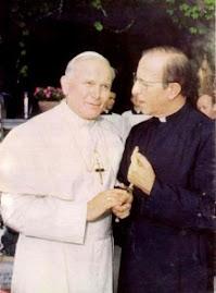 Maciel i Jan Pawel II w 1979 r.