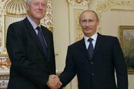 Bill Clinto w Moskwie