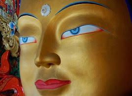 Buddha z klasztoru w Thiksey