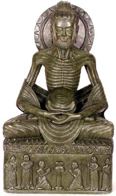 The Fasting Buddha