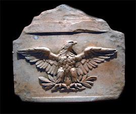 Orzel Symbol Jowisza na rzymskich sztandarach