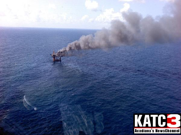 Another oil platform explodes