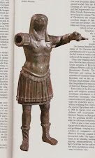 Thoth in the uniform of a Roman legionary