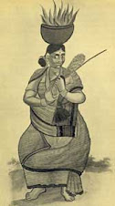 Smallpox goddess, India