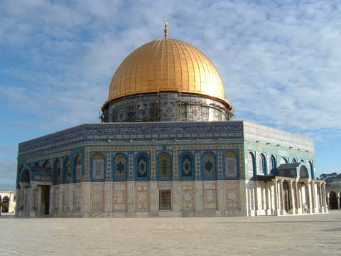 Falliczna architektura meczetu Al Aqsa
