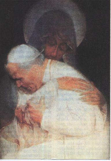 """""""Cudowna"""" wersja obrazu Jana Pawla II"""