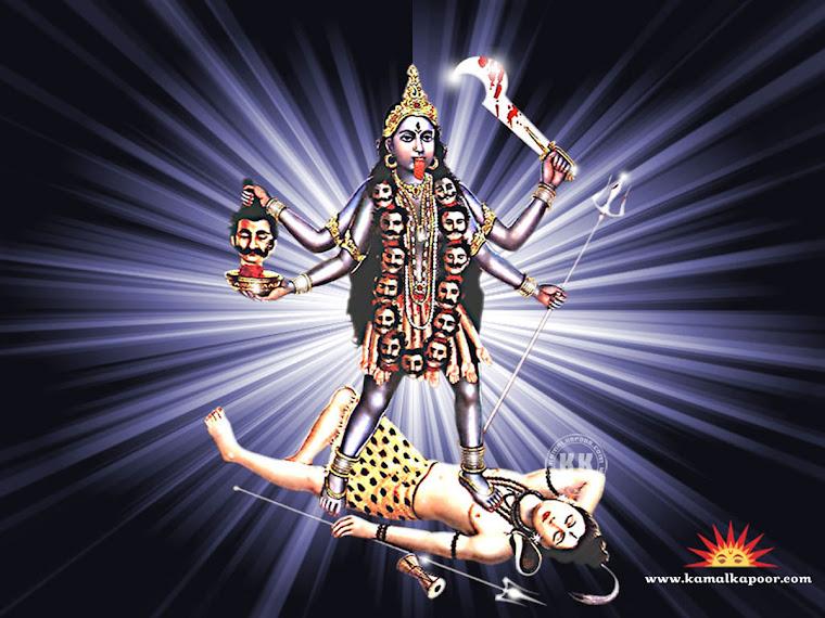 Aryjska boginii Kali jest rownie krwiozercza jak jej meski odpowiednik