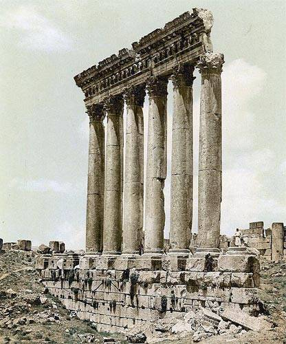 Baalbek Temple of Jupiter-Baal