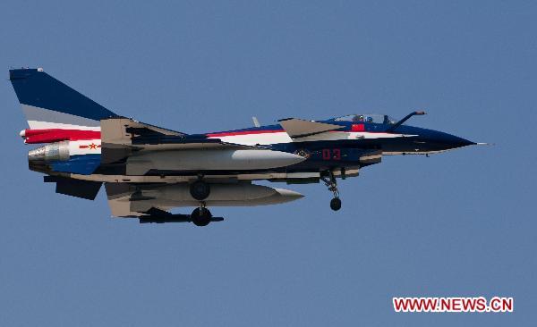 Chinski mysliwiec A J-10