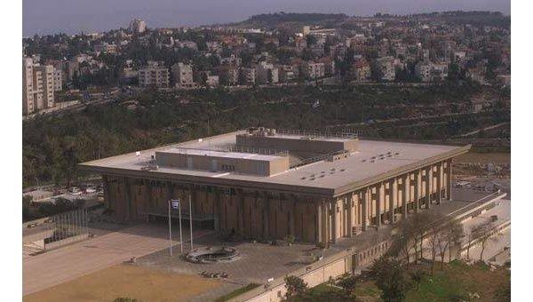 Gmach izraelskiego parlamentu