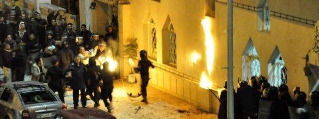 Zamach na chrzescijanski kosciol w Egipcie