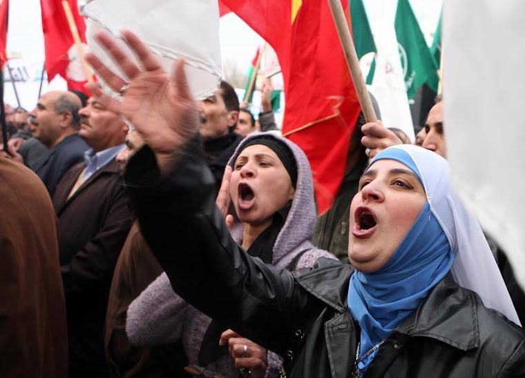 Protesty w Jordanii