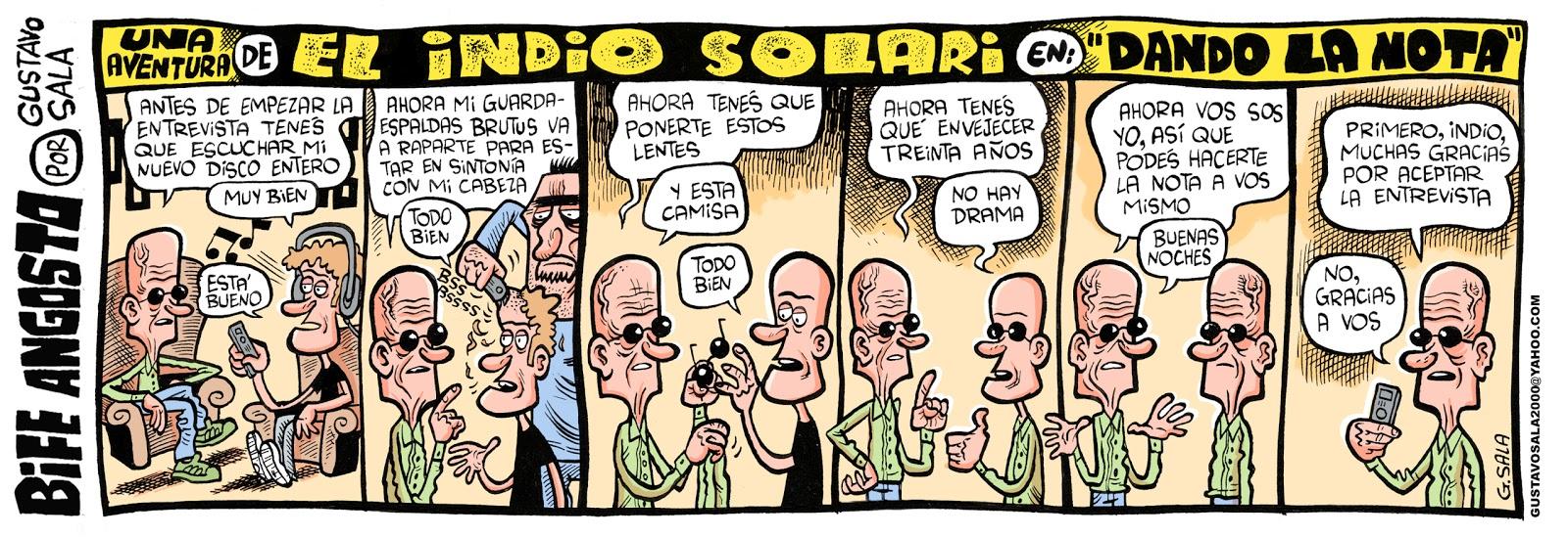 Tiras Cómicas de Gustavo Sala!!!
