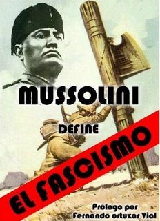 Mussolini define el Fascismo