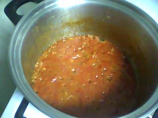 lasagne making