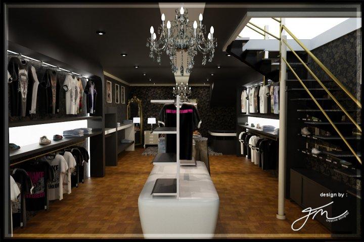 Esa creative company retail store interior design for Boutique interior design firm