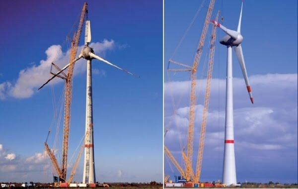 Eolienne Enercon 6 MW