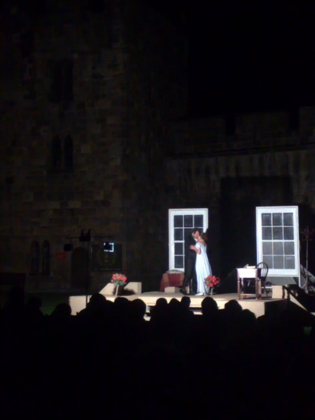 Backyard Theater Ensemble : With an outdoor event at such a stately venue, you are expected to be