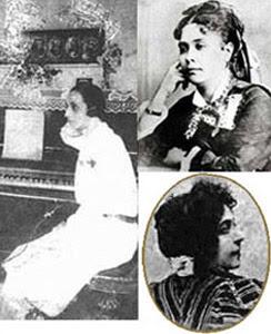 Georgina Erismann, Chiquinha Gonzaga e Luiza Leonardo
