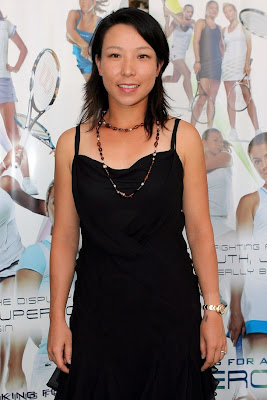 Picture of Zheng Jie at the 2009 WTA Tour player awards in Miami