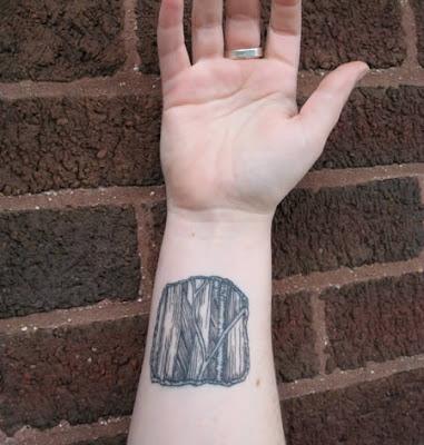 tattoo cute20. Wrist anatomy tattoo illustrated by medical illustrator, Karen Bucher.