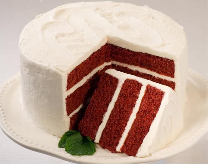 Чем заменить краситель в торте красный бархат