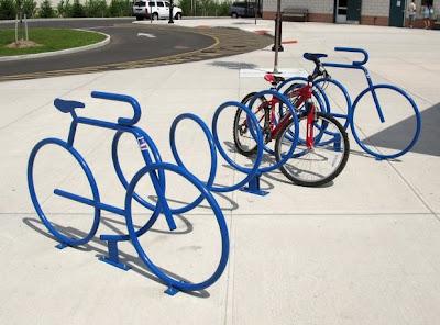 bicicletário criativo
