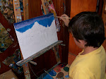 Pablito pintando