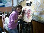Gisela y el expresionismo abstracto