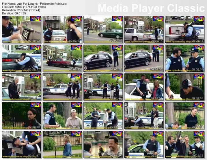 Just For Laughs - Policeman Prank. Download Video: