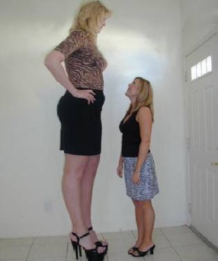 tallest women in the world