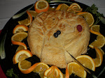 Baked Brie with puff pastry