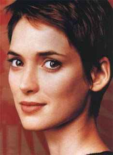 celebrity short haircuts, celebrity short hairstyles, short haircuts, short hairstyles, winona ryder