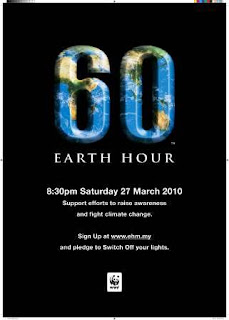 Earth Hour 27/03/10