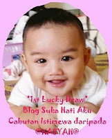 1st Lucky Draw Blog Suka Hati